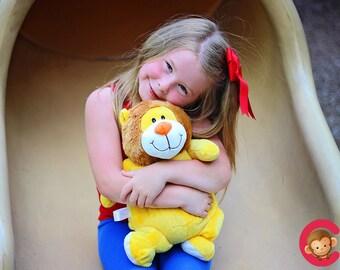 Personalised Baby Gift Soft Toy, Teddy Bear, Gift ,Newborns, Christmas ,Christening ,Keepsake,Lion