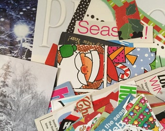 Holiday Scrapbooking l 200 Christmas and Holiday-themed Magazine Images and words