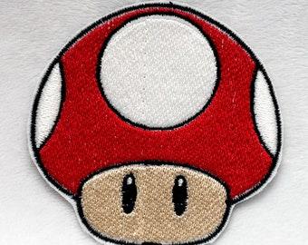 Mario Iron on Patch