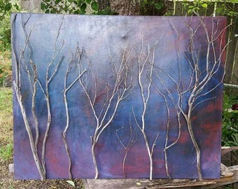 Whispers in the Forest -  original Branch Art