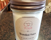 Brandied Pears handcrafted candle