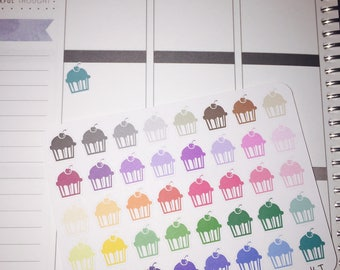 Cupcake Icon Stickers