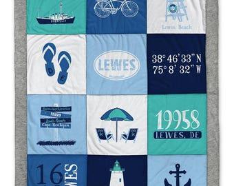 Lewes DE (1) Destination Blanket