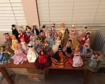 Blue Bonnet Doll Lot