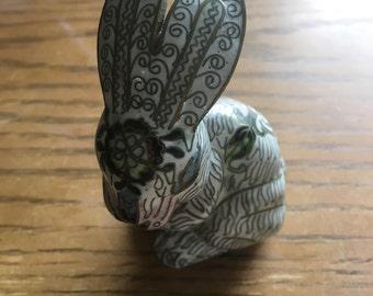 White brass Rabbit