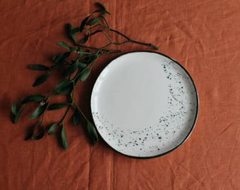 stoneware plate | etsy, Hause ideen