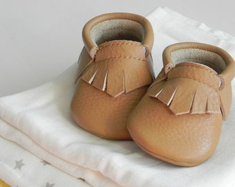 Boho Baby Soft Sole Slippers