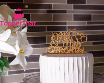 Personalized Disney Theme Wedding Cake Topper