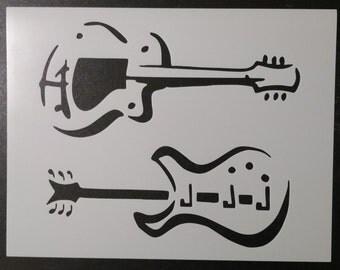 Guitars Guitar Custom Stencil FAST FREE SHIPPING