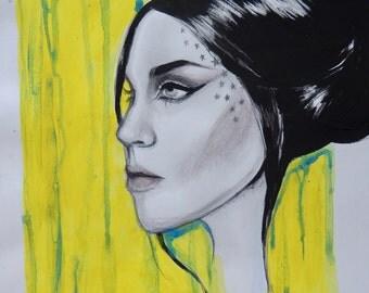 Kat Von D Mini Portrait