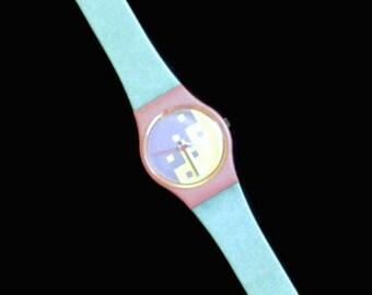 1980's Swatch Watch, Cassata