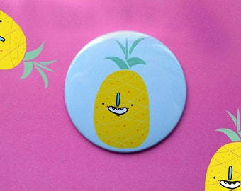 Pineapple : You are my Main Squeeze Pocket Mirror 76 cm