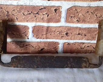 Antique Primitive Carpenter Peeling Bark Tool