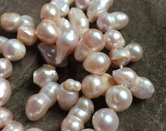 Freshwater pearl strand, wedding pearls, Pearl variety mix