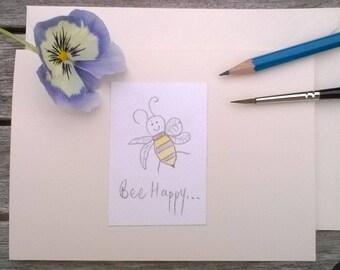 Greeting Cards Handmade Bees