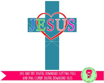 Easter, Jesus SVG / DXF Cutting Files For Cricut Explore / Silhouette Cameo & PNG Clipart, Digital Download, Commercial Use Ok