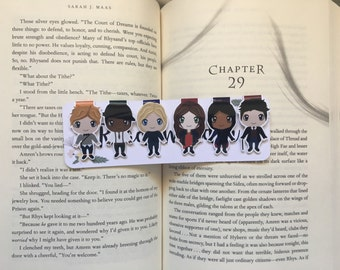 The Six Criminals Magnetic Bookmarks