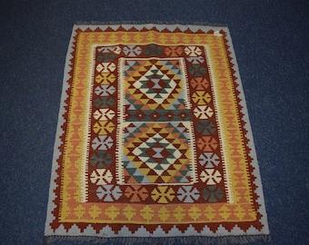 Beautiful hand woven chobi kilim