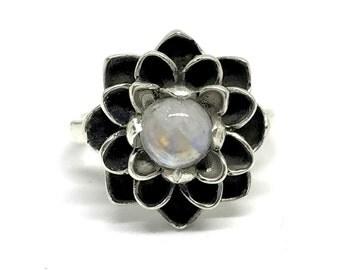 Teratai Bali 925 sterling silver ring