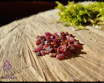 Natural Raw Ruby, Rough Red Corundum  Crystal/Gemstone - Crystal Healing - Metaphysical - Jewellery Making - Zodiac