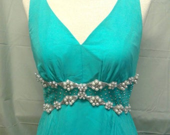 Free Shipping Vintage 1960s Evening Dress Mike Beńet Formals