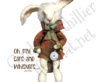 Greeting Card- March Hare 2