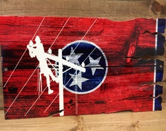 Tennessee lineman flag
