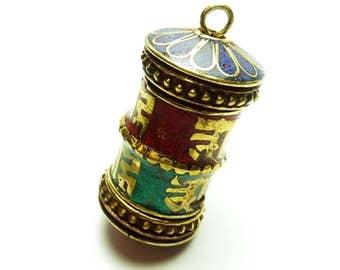 Ethnic pendant Tibetan-Nepalese PEK46-090