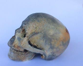Wood Fired Ceramic Skull
