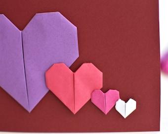 Origami valentine | Etsy - photo#19