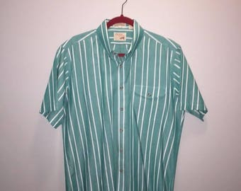 Vintage Stripe Oxford / size large / by The Fox Collection