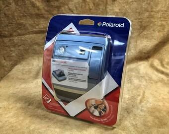 Working Polaroid One600 Camera In Original Box // Light Blue // Factory Sealed