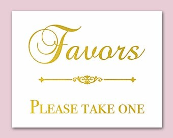 wedding favors for guests, Wedding Signs, wedding favor sign, signs for weddings, custom signs, gold wedding decor, reception signs
