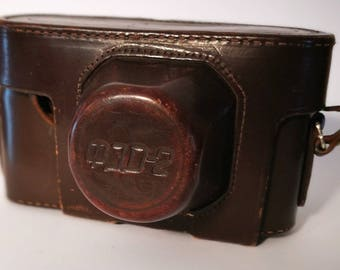 Fed 2 Case. Vintage 1960s Rangefinder Camera Case/Pouch/Everready