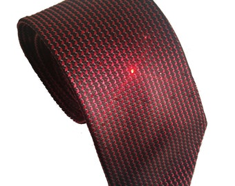 Swarovski Crystal Necktie - Men's Necktie - Embellished Necktie - Crystal Necktie - Special Occassion Tie - Men's Apparel - Black Friday
