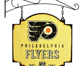 Philadelphia Flyers Tavern Sign With Bracket