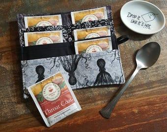 Tea Wallet - Dark Octopus