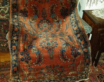 "30 "" by 49"" Antique Persian  Mohajaran"