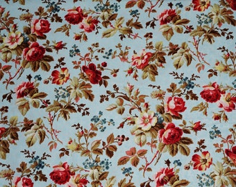 Penelope Large    Rose Cotton Fabric Lakehouse Dry Goods  By the Yard