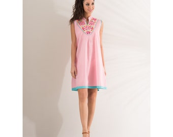 Sleeveless Tunic Pink