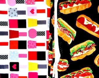 Nail polish, Sub sandwiches fabric