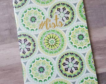 Lined List Notebook