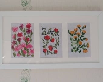 Xstitch Xcellence Floral Wall Art