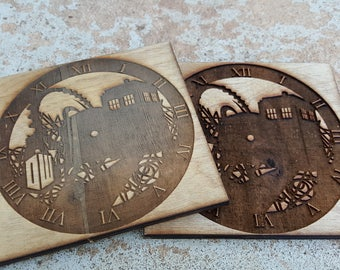 Dr. Who Coasters