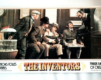 The Inventors Les inventeurs Vintage Board Game 1974 Parker Brothers 100% complete