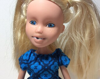 Helping Hand Dolls: Repainted Custom Bratz Doll Makeover OOAK Blonde Blue Eyes