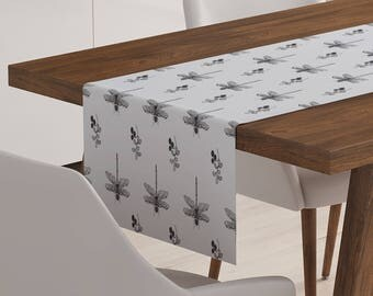 Dragonfly Table Runner | Dragonfly Décor | Dragonfly Table Topper | Dragonfly Table Linen | Dragonfly Linen | Dragonfly Table Décor