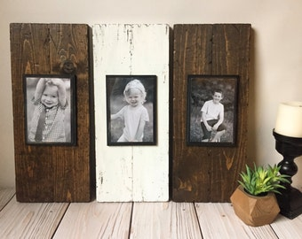 Picture Frame Set - Wood Picture Frame - Rustic Picture Frame  - Rustic Wood Frame - Rustic Home Decor - Picture Frame Set - Wood Frame