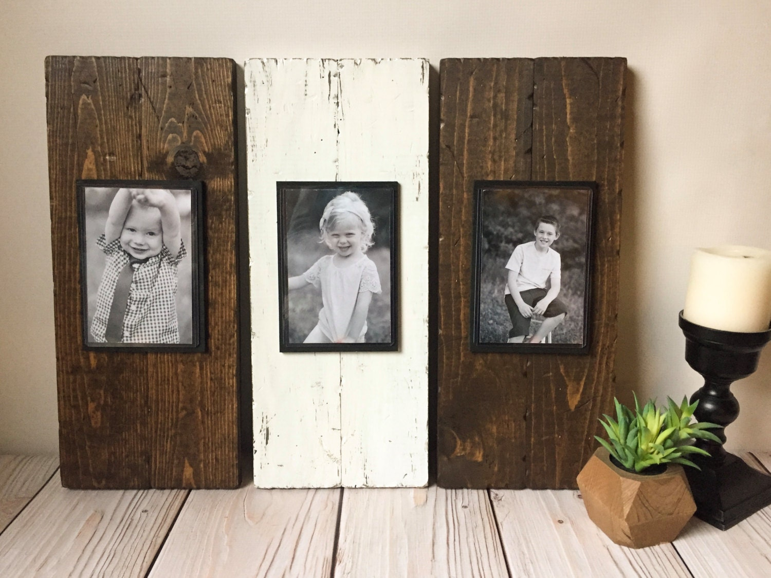 rustic picture frame set wood picture frame rustic picture frame rustic wood frame mothers day picture frame set wood frame
