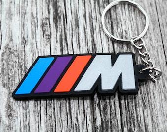BMW M POWER keychain Motorsport auto car gift Keyring M1 M3 M4 M5 M6 Schlüsselanhänger car drift show accessory gift present
